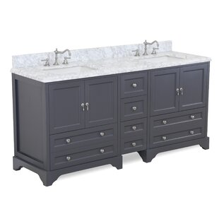 Madison 72 Double Bathroom Vanity Set by Kitchen Bath Collection