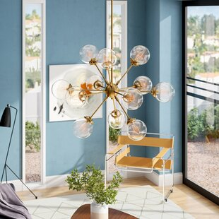 Langley Street Benites 12-Light Sputnik Chandelier