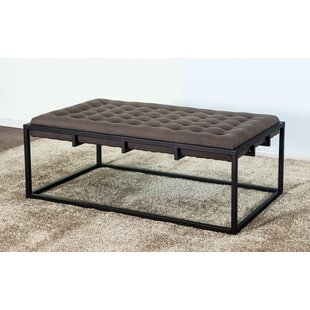 Corner Upholstered Coffee Table by Gracie Oaks