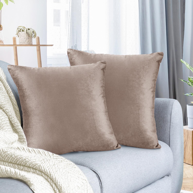 Brown Navy Throw Pillows You Ll Love In 2021 Wayfair