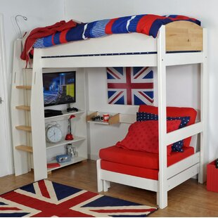 Jodi European Single L-Shaped Bunk Bed With Trundle By Zoomie Kids