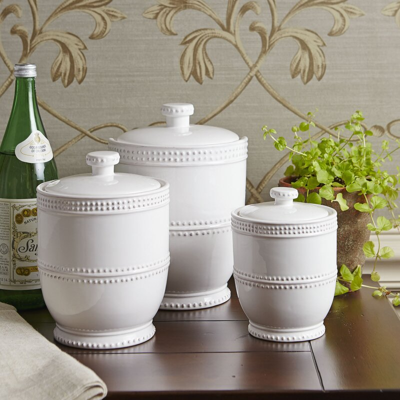 Ord 3 Piece Kitchen Canister Set