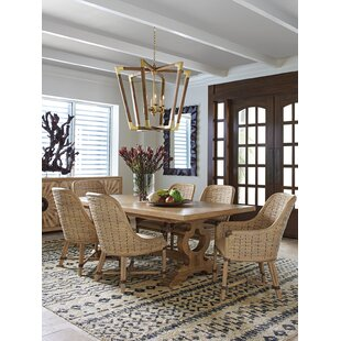 Tommy Bahama Home Los Altos 7 Piece Extendable Dining Table Set