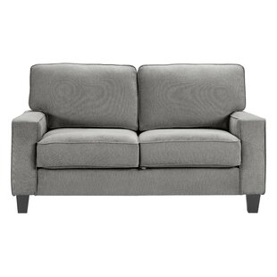 Affordable Palisades Standard Loveseat by Serta at Home Reviews (2019) & Buyer's Guide