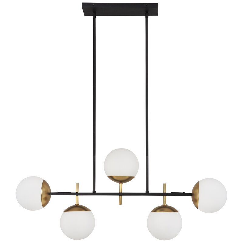 online retailer 6194c 60a04 Rosanne 5-Light Sputnik Chandelier