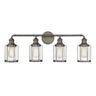 Williston Forge DeBary 4-Light Vanity Light