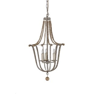 Gabby Jenna 3-Light Empire Chandelier