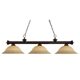 Fleur De Lis Living Bessette 3-Light Billiard Light