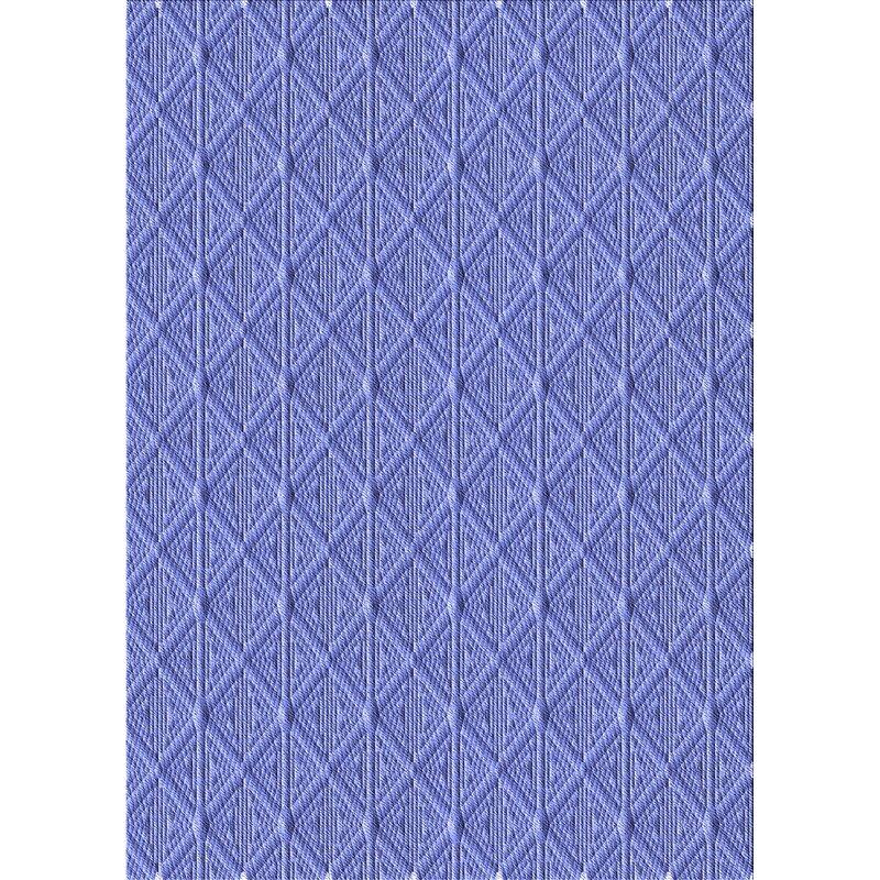 East Urban Home Keever Geometric Wool Blue Area Rug Wayfair