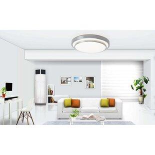 Ebern Designs Sydni 1-Light Flush Mount