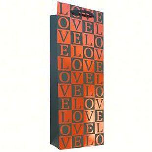Love Single Wine Bottle Carrier