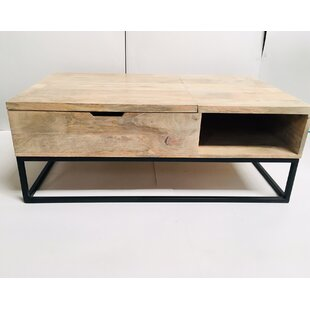 Nooksack Coffee Table with Storage by Williston Forge