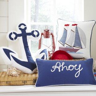 Senior Ahoy Lumbar Pillow Cover