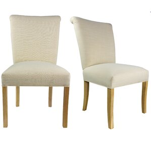 Barcelona Upholstered Parsons Chair (Set of 2) by Sole Designs
