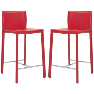 Wade Logan Gary 27 Bar Stool Set Of 2 To Perfect Living Room