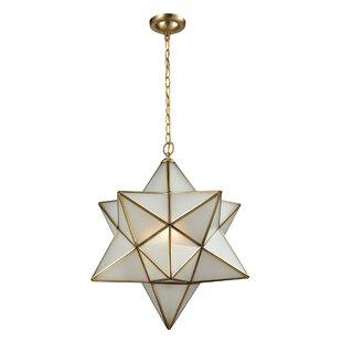 Mistana Mariam 3-Light Geometric Pendant