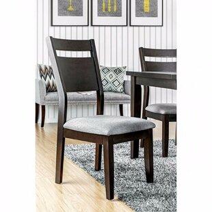 Brayden Studio Leonetti Wooden Upholstere..
