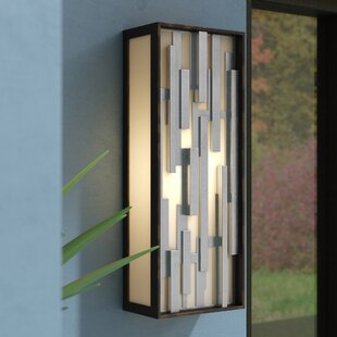 Augustine 1-Light Outdoor Flush Mount