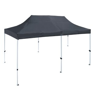 20 Ft. W x 10 Ft. D Steel Pop-Up Party Tent by ALEKO