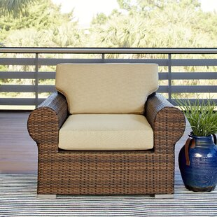Birch Lane™ Brookhaven Patio Chair with Cushion