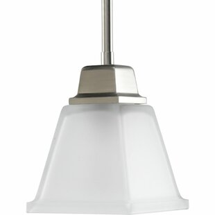 Chickamauga Mini Pendant in Brushed Nickel by Latitude Run