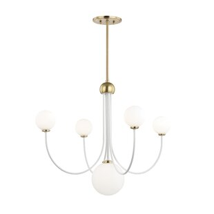 Brayden Studio Torington 5-Light LED Shaded Chandelier