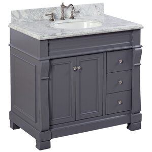 single white vanity with sink. Bella 36  Single Bathroom Vanity Set Vanities Joss Main