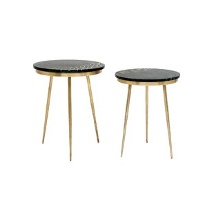 Bulwell Side Tables (Set of 2) (Set of 2) by Everly Quinn