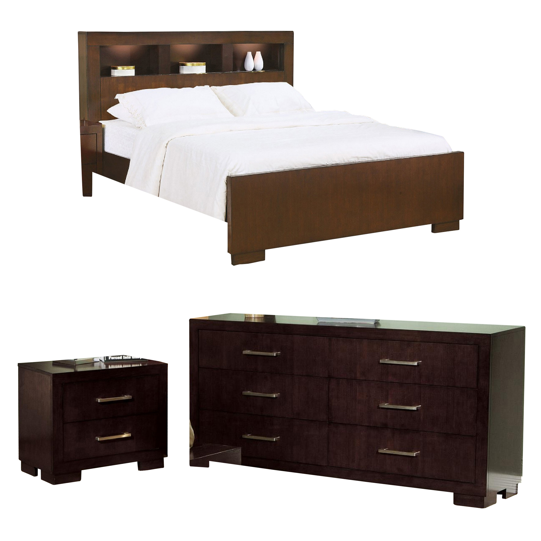Hamler California King Platform Configurable Bedroom Set