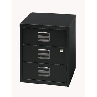 3 Drawer Filing Cabinet By Rebrilliant