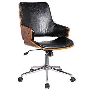 Porthos Home Solene Mid-Back Desk Chair