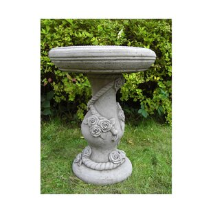 Lopez Bird Bath By Happy Larry
