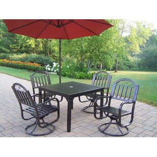 Lisabeth 5 Piece Dining Set