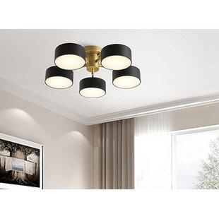 Goudy 5-Light LED Flush Mo..
