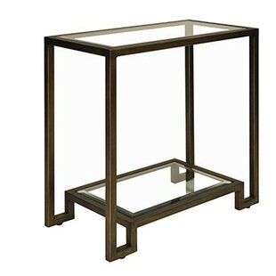 Worlds Away 2 Tier End Table