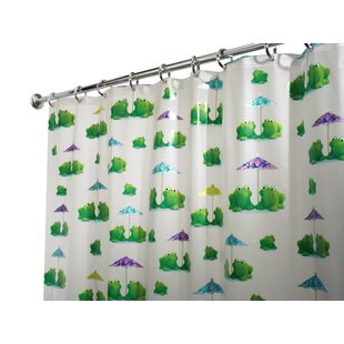 Shop For PVC Frogs Shower Curtain By InterDesign