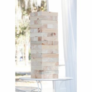 LumberStak 48 Piece Giant Block Tower Game Set