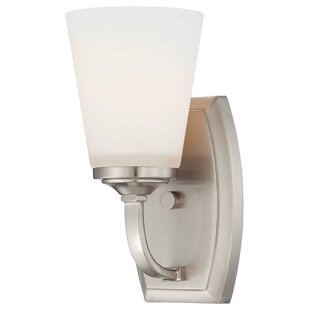 Andover Mills Mildred 1 Light Bath Sconce