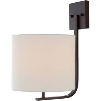 Nura Lights Secret 1 Light Armed Sconce Wayfair