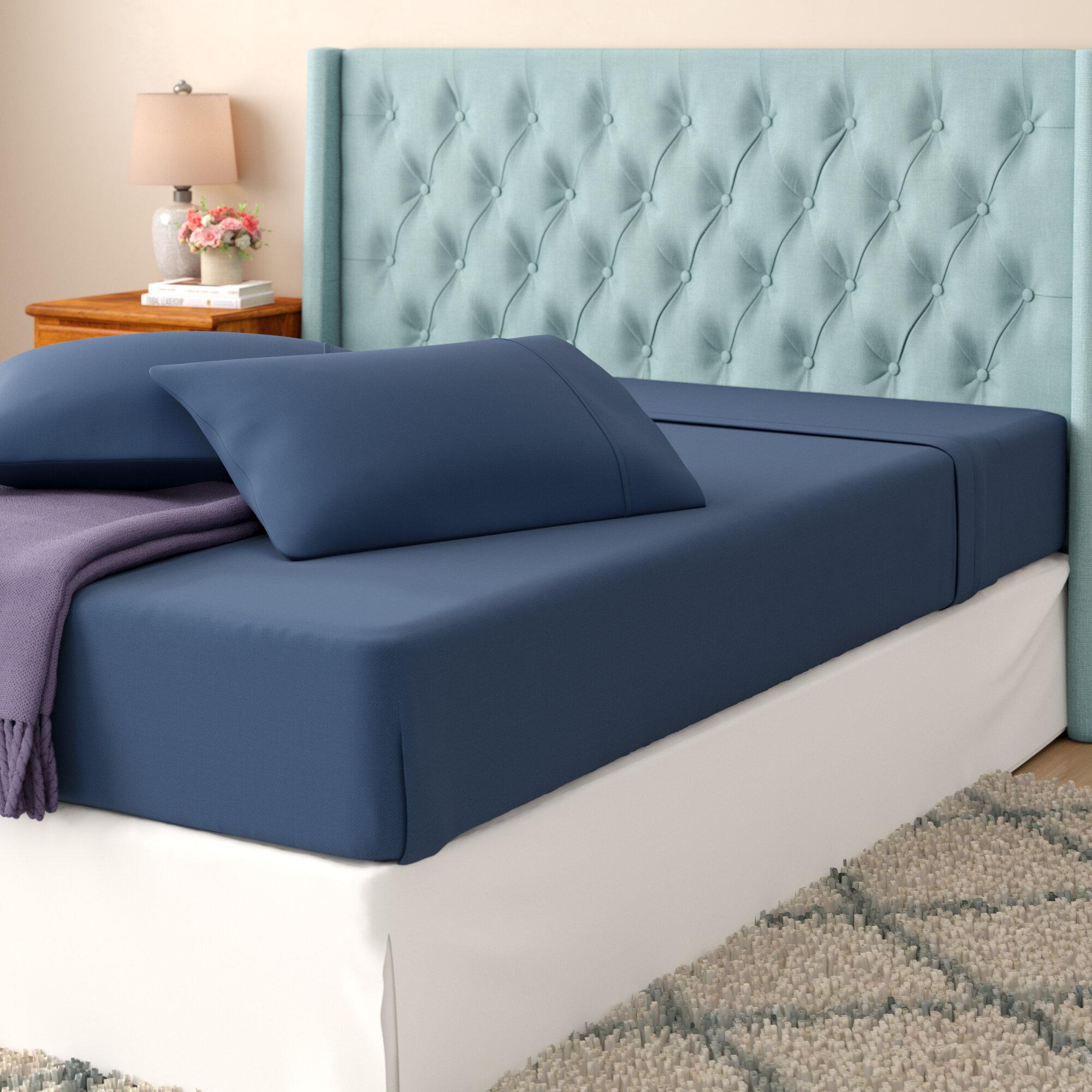 Alcott Hill Oskar Wrinkle Free 420 Thread Count 100% Cotton Sheet Set U0026  Reviews   Wayfair