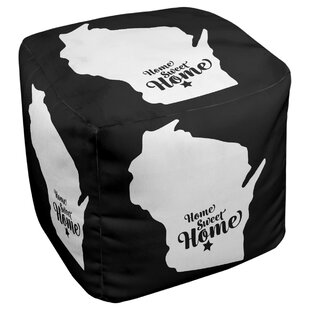 On Sale Home Sweet Madison Cube Ottoman By East Urban Home Order Now