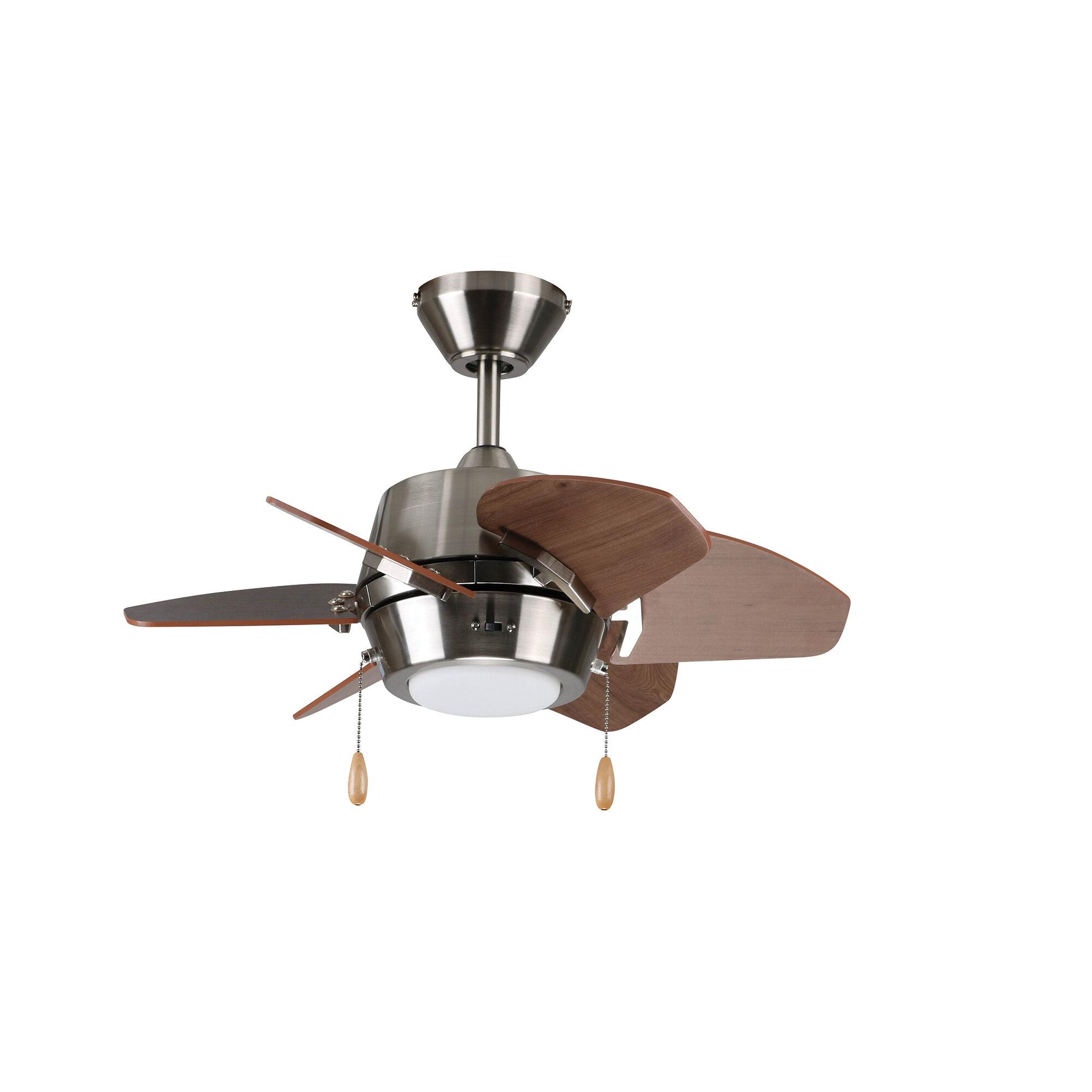 17 Stories 24 Lujan 6 Blade Propeller Ceiling Fan With Light Kit Included Reviews Wayfair