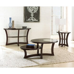 Rhinelander 3 Piece Coffee Table Set
