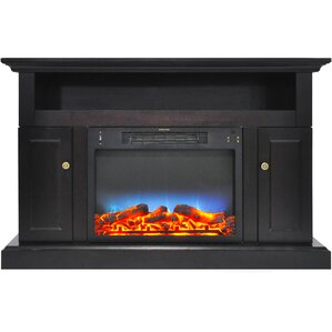 Broncho LED Fireplace TV Stand by Alcott Hill