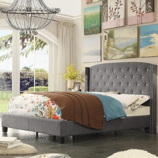 Martins Upholstered Panel Bed by Darby Home Co