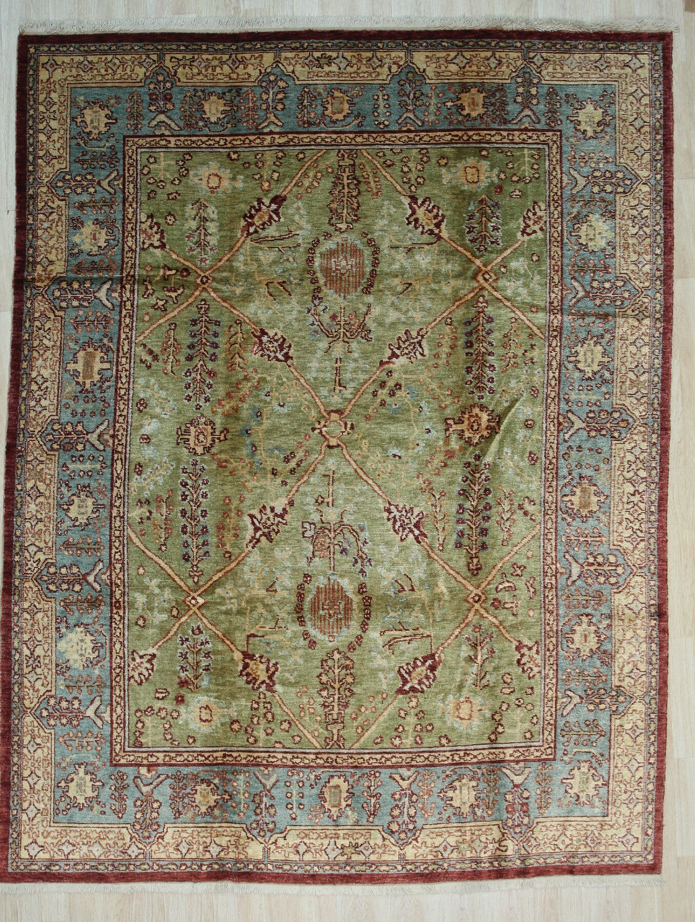 Green Knotted Area Rugs You Ll Love In 2021 Wayfair