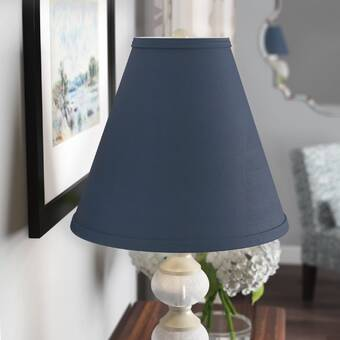 Highland Dunes 5 H X 6 W Cotton Empire Lamp Shade Clip On Reviews Wayfair