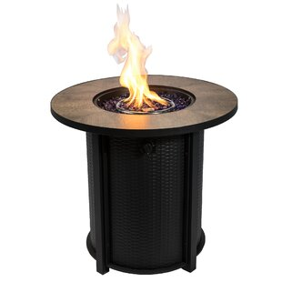 Delora Steel Propane Gas Fire Pit By Sol 72 Outdoor