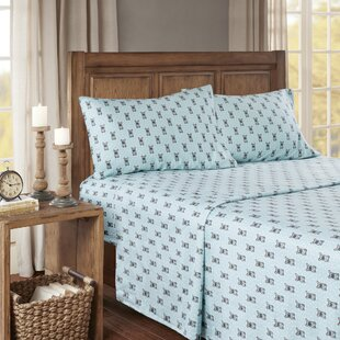 Hardcastle Cozy Printed 100% Cotton Sheet Set