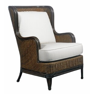 Outdoor Palm Beach Lounge Chair with Cushion